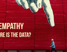 Empathy: Where is the Data?